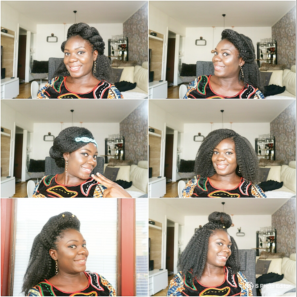 SIX DIFFERENT WAYS TO STYLE CROCHET BRAIDS